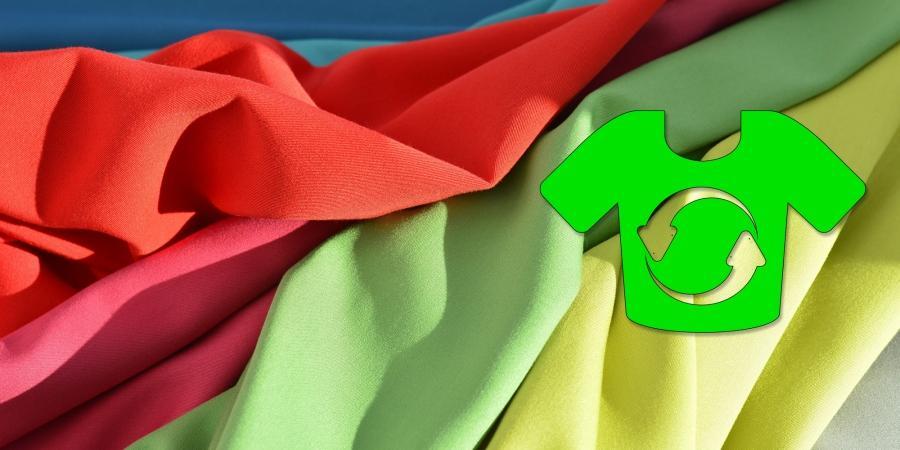 újrahasznosított textil
